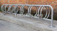 Hot dip galvanized 14 bike space bicycle parking rack bike stand bike parking rack