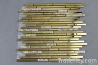 Stainless Steel Mosaic Tile Gold