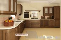 Beethoven cherry oak and ash kitchen