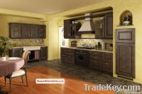 Moniuszko profiled oak and alder kitchen
