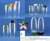 wholesale plastic hair shampoo bottle