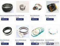 Fashion Jewelry Vintage Alloy Silver Women's Bracelet