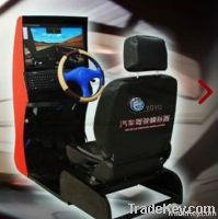 Large-scale Integrated Driver Training Simulator