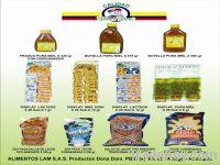 Productos alimenticios Colombianos