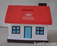 house coin bank/piggy bank/ money box/saving bank/saving box