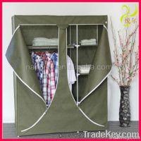 2012 assemble nonwoven fabric wardrobe cabinet