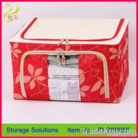 2012 hot sale household item colorful fabric storage box