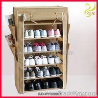 2012 hot sale durable fabric storage shoe rack