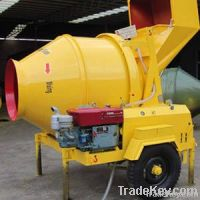 Portable Diesel Engine Concrete Mixer 350L
