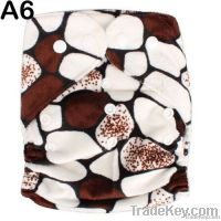 Printed baby cloth diaper, One Size Pocket Diaper, Cloth nappy for newbo