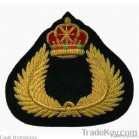 Bullion Embroidery Badges