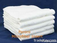 3 layer microfiber diaper insert for cloth diaper/nappy