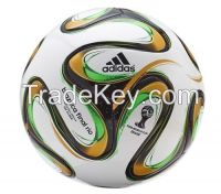 Authentic Brazil World Cup Brazuca Soccer Ball Size 5 FIFA Match Football