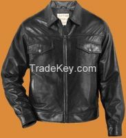 fashion leather jacket for men