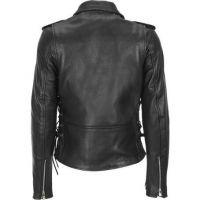 European Style Women High Quality Fashion Design Leather Motorbike