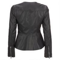 motorcycle fashion model women cowhide leather jackets for men