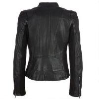 Lastest Fashion Pu Jacket Woman Leather Motorcycle Jacket