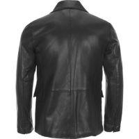 OEM Hot sell Men's Fashion Leather Motorcycle Coats Jackets Washed