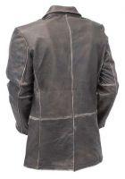 Vintage Brown Leather  Leather Jacket coat