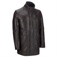 high quality leather man coat & jacket , men motorcycle leather jacket &