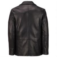 Haining new fur one male leather men short fur coat of cultivate one's morality