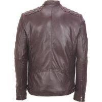 New style Mens Stylish Slim Fit Pu Leather Motorcycle Jackets