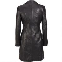 New design clothes women real sheepskin leather fur coat for ladies