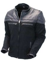 Manufacturer cheap jacket men motorcycle pu leather jacket