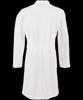 PP Nonwoen Medical Lab Coat Protective White Lab Coat Wholesale