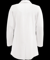 fitted lab coat