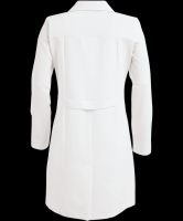 long white coat