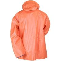 Orang rain jacket with hood