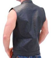concealed carry leather vest motorcycle