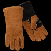 Gloves korea soft working glove cowhide stick welding gloves