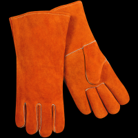 split cowhide standard stick welding gloves
