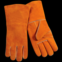 resistant stick welding gloves