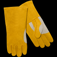 Long Sleeve Heavy Duty Thick Welding Gloves For Stick