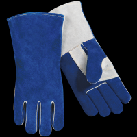Custom logo leather working gloves