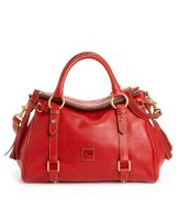 2018 latest red  leather hand bag