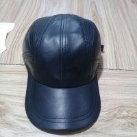 Fashion Leather PU Cheap Brimless Baseball cap hats