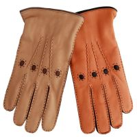 2018 yallow driving leather gloves