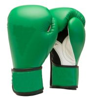 Leather Red Boxing gloves