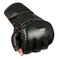 PU Professional Soft Leather Boxing Gloves, Heavy Weight Professional Boxing