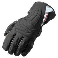 2018 black leather gloves moterbike