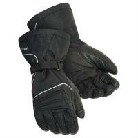 2018 new shine  black leather gloves motorbike