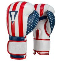Personalized PU leather material custom logo boxing gloves