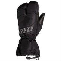 new black leather hand bag