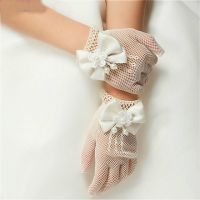 hot sale bridal wedding dress gloves fingerless lace bridal gloves