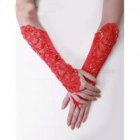 Custom Wedding Bridal Gloves