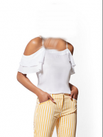 white   top and Blouse